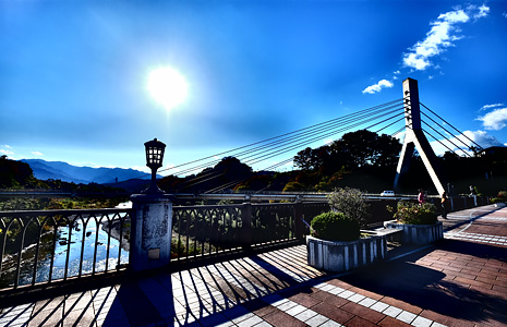 旧秩父橋&定林寺&三峯神社