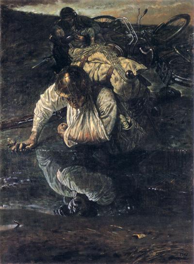《飢渇》(c)宮本三郎(1943年)
